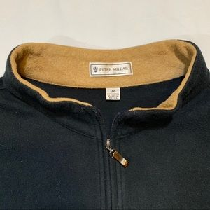 Peter Millar Quarter ZIP Mens Cotton Pullover